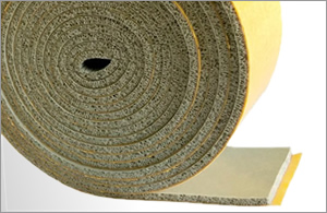 HT800 Self Adhesive Expanded Grey Silicone Strip