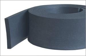 Flame Retardant Solid Silicone Rubber Strip MF775