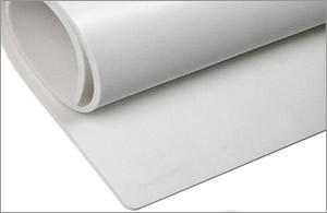 White FDA Compliant Silicone Rubber Sheet