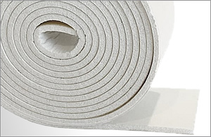 Expanded White Silicone Strip